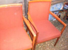 8 cheap wood chairs