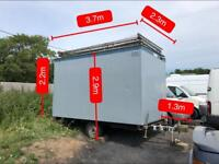 Portacabin Trailer / Site Office / Storage