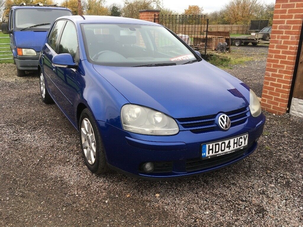 2004 vw golf 2.0 gt tdi 5 door met blue mot June 2018