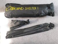 Fishing Shelter - Water Resistant with Integral Groundsheet - Collection BS30 Warmley