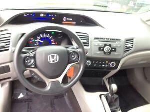 2012 Honda Civic LX Extended Warranty !!!! Stratford Kitchener Area image 13