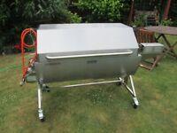 Pig Spit Roast Machine / Hog Roast Oven - Tasty Trotter - Mini - Square Lid, Used Once