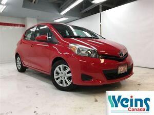 2014 Toyota Yaris $110/Bi-weekly+hst , LE , 1 OWNER , TCUV