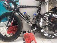 Trek Speed Concept 9.9 triathlon bike (top model)