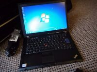 Lenovo Thinkpad Laptop, Dual Core