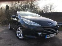 Peugeot 307 Convertible Long Mot Low Mileage Full Service History Belt Done Etc !!!