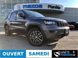 2017 JEEP GRAND CHEROKEE TRAILHAWK NAV TOIT MAGS HITCH