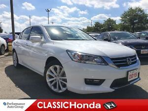 2015 Honda Accord Sedan TOURING V6 NAVIGATION LEATHER ONE OWNER