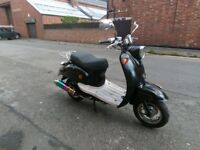 Direct bikes db50qt-a 2010 comes with 12 months MOT excellent runner