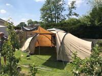 Coleman trispace 8 man tent