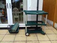 Potting table/trolley. Garden/allotment