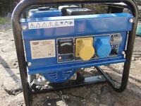 Draper Expert 2kw petrol generator (unused in box)