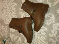 British Army issue boots