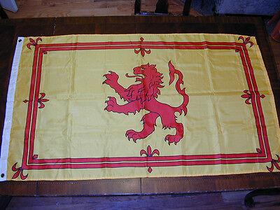 "FLAG: Scotland Royal Country Lion Crest 59""X34.5""Wall Decor Patriotic Show Pride"