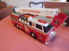 'METRO FIRE DEPARTMENT' TOY FIRE ENGINE