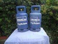 7kg calor gas bottle 1/2 full