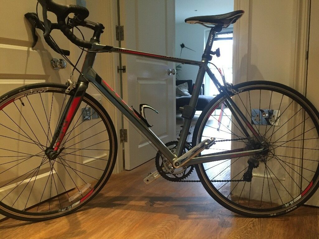 63c2cfabfee Giant Defy 5 2015 Bike - Great Condition; with Giro helmet and Abus bike  lock