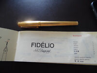 S.T. Dupont Fidelio Fountain Pen EXCELLENT CONDITION