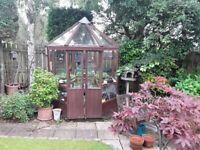 Waltons octagonal greenhouse