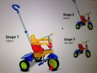 Toddler Smart Trike Breeze 3in1