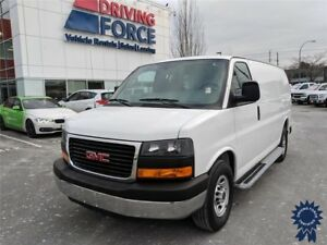 "2015 GMC Savana 2500 135"" WB Cargo Van, Cargo Safety Barrier"