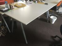 Eight desks (Ikea) for sale - available end of June