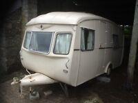 Rare Vintage Cheltenham Nyala caravan