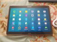 Samsung Galaxy Tab S 10.5inch SM-T805, Unlocked 4G, 16GB+32GB SD card, immaculate new condition