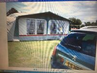 Awning NR 959cm with bedroom annex