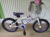 "GIRLS BIKE 16"" WHEELS, CONCEPT COOL BMX GREAT CONDITION,"