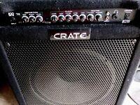 CRATE BT100 BASS AMP