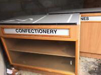Retail counter display units