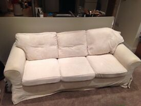Three seater sofa for sale (collection only)