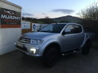 2015 Mitsubishi l200 barbarian model top spec Finance available zero deposits