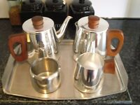 FIVE PIECE TEA SET