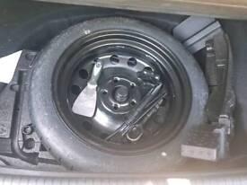 Volkswagen golf spare wheel