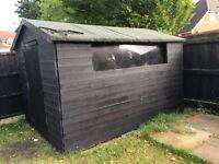 Large shed 10x7