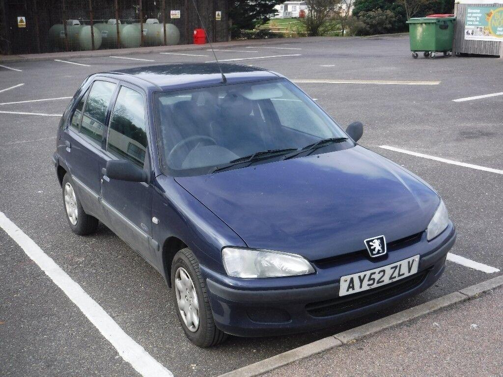 Peugeot 106 diesel, 2002, 50,700 gen. mileage