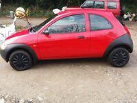 2002 Ford KA 1.3l Petrol 52,000 Miles Red NEW CLUTCH