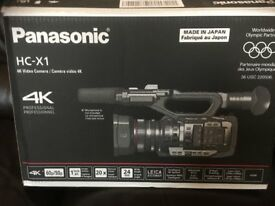 PANASONIC HC-X1 PROFESSIONAL 4K CAMCORDER
