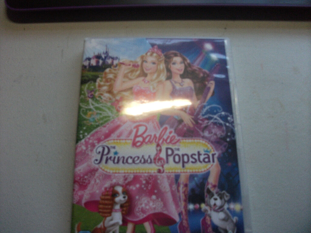 4 single Barbie DVDs and then a full