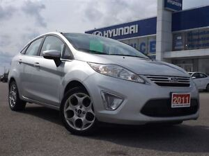 2011 Ford Fiesta SEL | AUTO | BLUETOOTH | ALLOYS | HEATED SEATS  Stratford Kitchener Area image 2