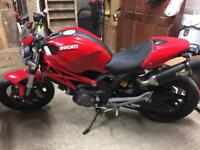 Ducati monster 696 2009 very low miles , upgrades