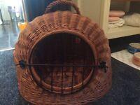 Cat bed, radiator hammock and carrier basket