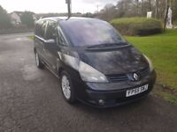 2005 Renault Espace 1.9 Dci Turbo diesel 7 seater mpv 1 previous owner