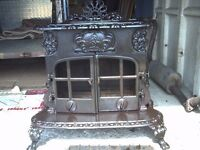 smith and wellstood ornate woodburner