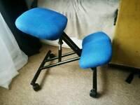 Kneeling chair (forget lumbar pain)