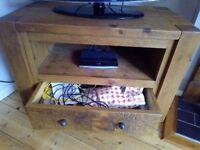 Indigo Furniture plank TV unit