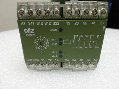 Pilz Pnoz V Safety Relay - 474790