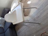 ANTILOP-Baby-Children-High-Chair-Safety-Belt-Feeding-Tray-IKEA